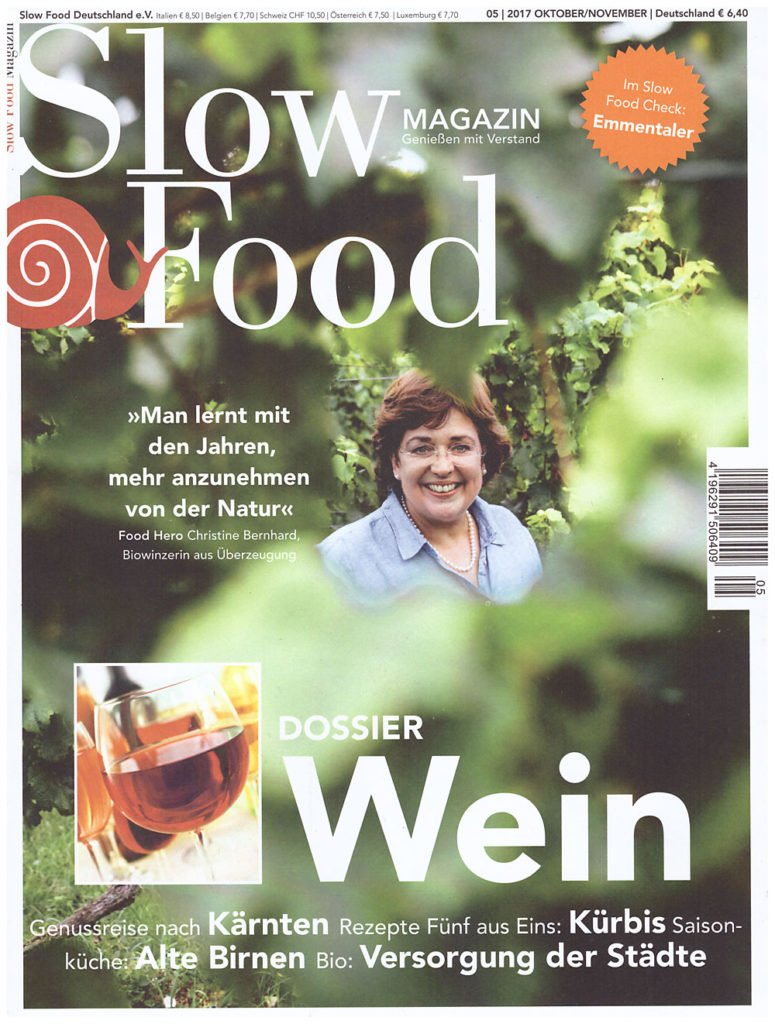 "Christine Bernhard ist ""Food Hero""."
